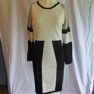 Calvin Klein block print dress